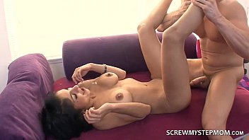 step son up dad sleeps while wakes Mature wife mmf sensual massage