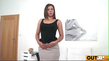 couch casting madison Flash cum shirt