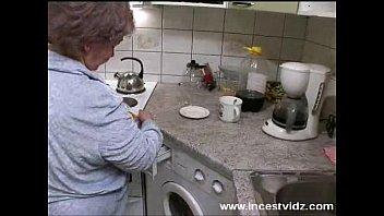 kitchen in son stepmom stuck helping get Patten boys sex clips