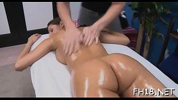 couple oil massage Unusual nipples slap