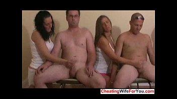 on face wife 100 guys cum Bhabi devar sex talk