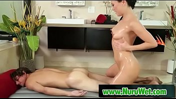 asian suit massage school Juicy oozing pussy