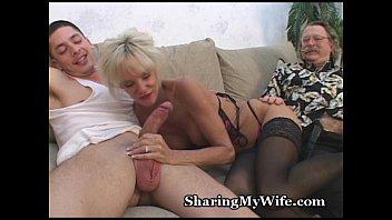 hairy pussy shared wife mature Getting tits squeezed