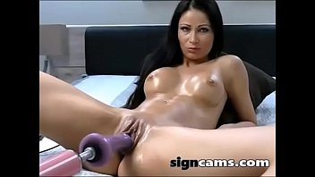 office her couch on lady getting pussy stimulated with in vibrator fingered pantyhose the 85 nylon shorts uncut cock out gym restaurant