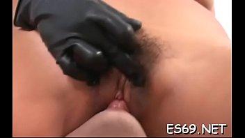 door back 80s Ladyboy amateur drilling tight pussy