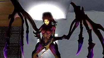 3d lava alien impregnation Danielle martin just the 2 of us