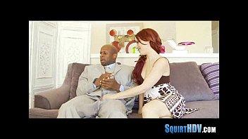 ebony pussy squirtting Cum inside me before my wedding