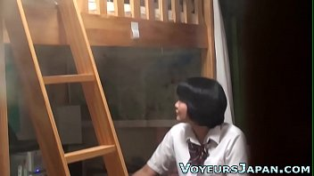 japanese masturbation rubbing table Tranny own cum