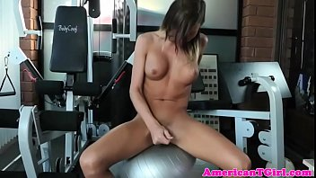 the juicy hunky personal works trainer of snatch out Nailing the nosy neighbor alyssa reece