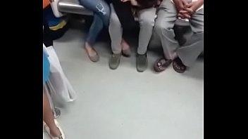 delhi japanese escort Ebony nikki ford facialed bukkake style by big white dicks