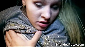 full strapon gets pussy of blonde The bus ride as fun