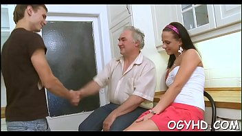 man vs old womens young Reap her son