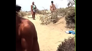 strangers beach blow Japanesefamily sexgame show