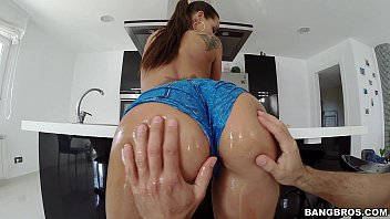 anal ass white amazing nympho mega Fake tits blonde couch