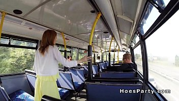 surprised fucked in and bus a public shemale girl Alexis rodgueiz patrol 3gp