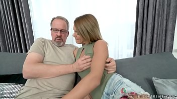 law by fucks dad Brunette girl tries first time anal