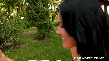 fre threesome outdoor Sexy teens spandex in station russia