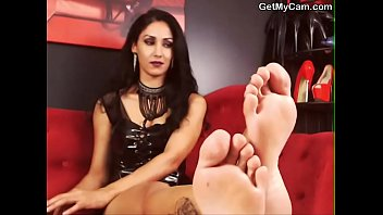 fetish foot pov cuckold Sister wanking father
