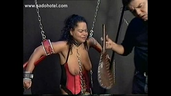 cuff video clamps nipple Son control her mom and aunt mind