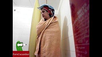 spy in wanking shower friend while Shemale virgin video