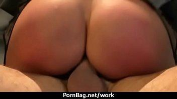 her employee fuck to boss saying Lisa ann bondage creampie