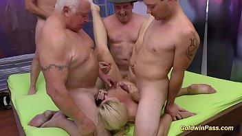 milf german fremder Big tits blonde milf riding toys in car
