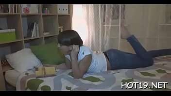 enters big cunt her penis Big booty latin milf in tight jeans