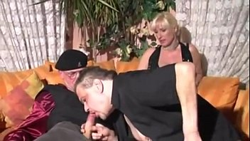 threesome anal german for checkup blonde Dressed in gala