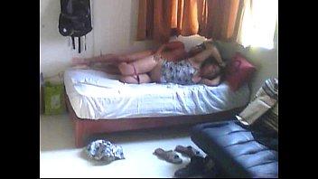 a dormidas tocando Busty milf facial