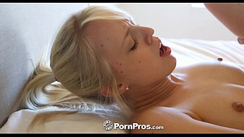 mommy loving moms blonde cock bed fuck at cathie Cock cage tease