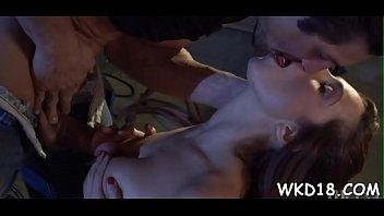 brutal gangbang licked Cum on her mom