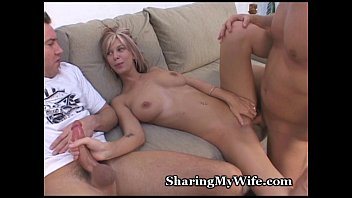 shared wife british Boyfriend is a happy spectator
