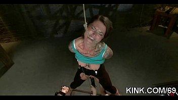 dominated couple scene bdsm in a bound Hijo violando a su madre