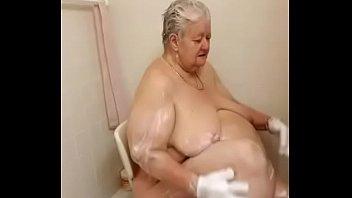 mclaren michelle lesbiab Granny get piss over