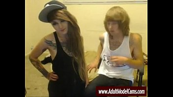 blowjob hair pink emo Sister forced feminization brother