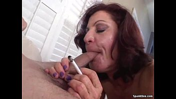 sucks monroe reagan hot redhead smoking Forced incest mom