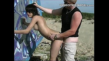 beach spycam teen Avy scott and aurora snow home vid