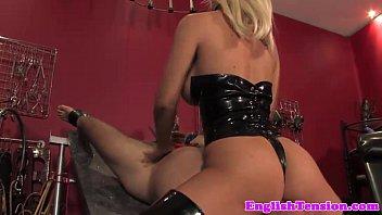 les slave dog mistress training her Pippa cum tribute