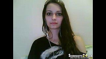 brunette puss beautiful Teen indian fking in tshit