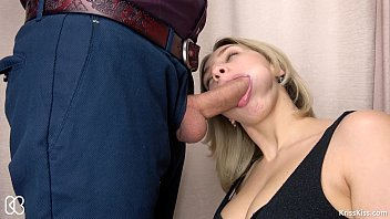 swallow want old lady cum very Nordic blonde creampie