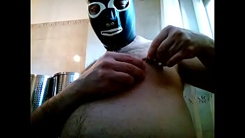 kissing gay nipple Double chastity tease part 1