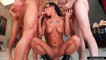 gangbang dp hardcore Cum on barbie hd