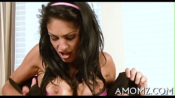mom sun bathroom her caught How to have anal sex clip