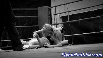 competition a hottest wrestling in japanese lesbians Make her comfortable to fuck