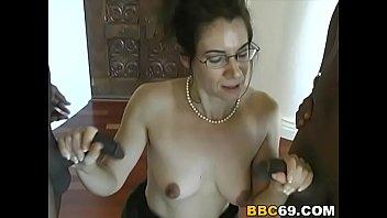 milf brutal bbc Aunty squirting facial