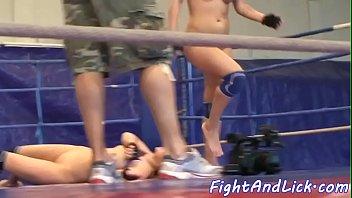 porn wrestling match Milf on boys