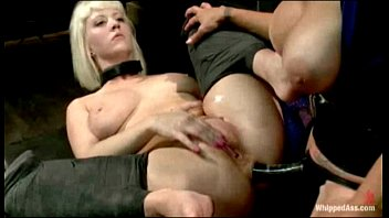 whipping forced pussy punishment Big black cock painful double anal