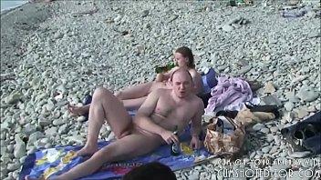 beach nude teasing wife strangers at Chloe liam clara
