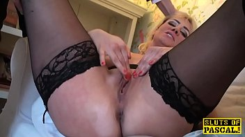 hentai herself fingering demongirl Spreading her pussy up open and she cums hard