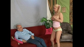 strip old blonde man Arin andrews peep hole